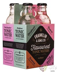 "Franklin & Sons "" 4pack Mix "" English tonic water 4x0.20 l"