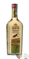 "Agavita "" Gold "" Hecho en Mexico mixto tequila 38% vol.    0.70 l"