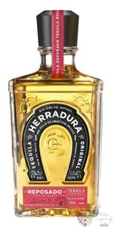 "Herradura "" Reposado "" Mexican natural tequila 100% of Blue agave 40% vol.   0.70 l"