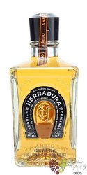 "Herradura "" Anějo "" Mexican natural tequila 100% of Blue agave 40% vol.   0.70 l"