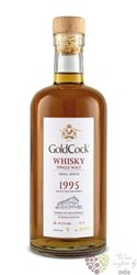Gold Cock 1995 aged 20 years single malt whisky 49,2% vol.  0.70 l