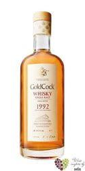 "Gold Cock 1992 "" Small batch first bottling "" gift box aged 22 years whisky 49.2% vol.    0.70 l"