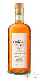 "Gold Cock "" X Series "" single malt Moravian whisky 61.5% vol.  0.70 l"