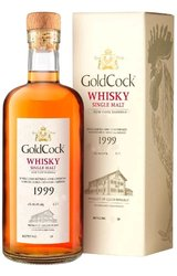 "Gold Cock 1999 "" Rum cask "" single malt Moravian whisky 60.8% vol.  0.70 l"