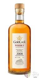 "Gold Cock 2008 "" Cloud 9 "" single malt Moravian whisky 49.2% vol.  0.70 l"