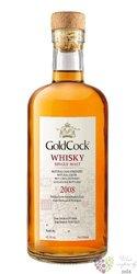 "Gold Cock 2008 "" H&H Madeira batch II. Angels share "" single malt Moravian whisky 62.2% vol  0.7"