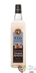 "1883 de Philibert Routin "" Orgeat Almond "" French coctail syrup 00% vol.   1.00l"