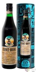 "Branca "" Fernet Original 175 anni "" tin box herbal liqueur by Fratelli Branca 39% vol. 0.70 l"