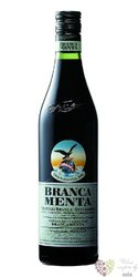 "Branca "" Menta "" original herbal liqueur by Fratelli Branca 28% vol. 1.00 l"
