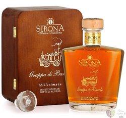 """Grappa di Barolo Vintage Riserva 2007 """" Millesimata """" Sibona Antica distilleria 44% vol.  0.70 l"""