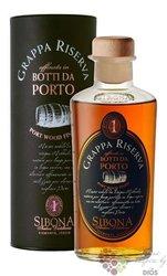 """Grappa linea Riserva """" Botti da Porto """" Antica distilleria Sibona 44% vol.  0.50 l"""