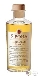 Grappa di Barolo aged by Antica distilleria Sibona 42% vol.   0.50 l