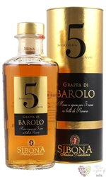 "Grappa di Barolo aged "" Distilla Line "" by Antica distilleria Sibona 40% vol. 0.70 l"