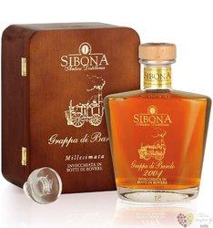 """Grappa di Barolo 2003 """" Millesimata """" Sibona Antica distilleria 44% vol.    0.70 l"""