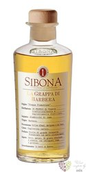 Grappa di Barbera by Antica distilleria Sibona 42% vol.   0.50 l