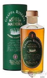 """Grappa linea Riserva """" Botti da Madeira """" Sibona Antica distilleria 44% vol.  0.50 l"""