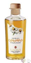 Liquore alla Camomilla in Grappa finissima Sibona Antica Distilleria 42% vol. 0.70 l