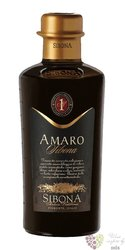 Amaro Italian herbal liqueur Sibona Antica distilleria 28% vol.  0.50 l
