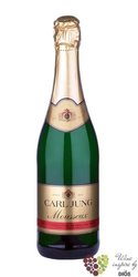 "Carl Jung "" Mousseux "" German non alcoholic sparkling wine 00% vol.   0.20 l"