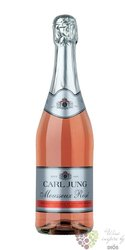 "Carl Jung "" Mousesux"" rose German non alcoholic sparkling wine 00% vol.     0.75 l"