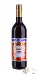 "Carl Jung "" Bitter rosso "" German de alcoholised vermouth 00% vol.  0.75 l"