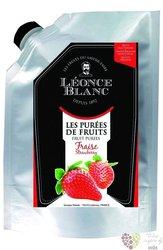 Jahody French strawberries purée Léonce Blanc 1kg