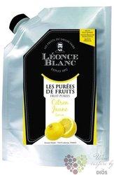 Citrony French lemons purée Léonce Blanc 1kg