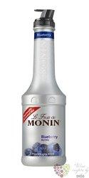 "Monin purée "" Myrtille "" French fruits pap extract 00% vol.   1.00 l"