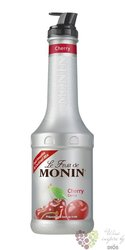 "Monin purée "" Cerise "" French fruits pap extract 00% vol.   1.00 l"