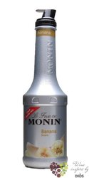 "Monin purée "" Banane "" French fruits pap extract 00% vol.   1.00 l"
