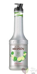 "Monin purée "" Lime "" French fruits pap extract 00% vol.  1.00 l"