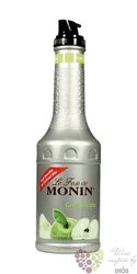 "Monin purée "" Green apple "" French fruits pap extract 00% vol.   1.00 l"
