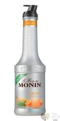 "Monin purée "" Carrot "" French fruits pap extract 00% vol.   1.00 l"