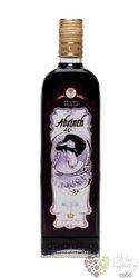 "Absinth "" Black "" bohemian spirits Fruko Schulz 70% vol.  0.50 l"