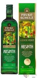 "Fruko Schulz "" Absolvent "" Bohemian absinth 70% vol.  0.50 l"