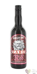 "Tabu "" Red "" German Absinth 55% vol.   0.70 l"