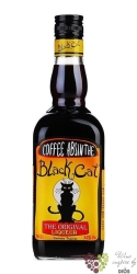 "Absinthe "" Black Cat "" spanish coffee & absinth liqueur by Teichenné 30% vol. 0.70 l"
