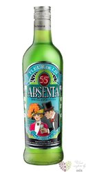 """Abseta """" Fleur de Lis """" Spanish absinth 55% vol. 0.70 l"""