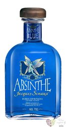 "Jacques Senaux "" Blue "" Spanish absinth by Teichenné 78% vol.    0.70 l"