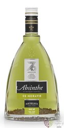 "Absinthe "" de Moravie "" Czech absinth by Metelka 70% vol.  0.20 l"