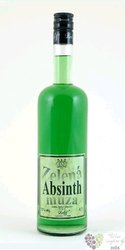 Zelená můza czech absinth by Delis 72% vol.   0.70 l