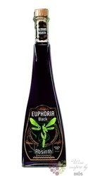 "Euphoria "" Black "" czech absinth Hill´s 70% vol.  0.50 l"