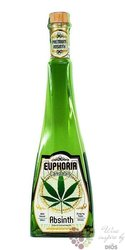 "Euphoria "" Cannabis "" czech absinth Hill´s  70% vol.  0.50 l"