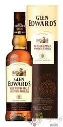 Glen Edward´s Pure malt Highland Scotch whisky 40% vol.    0.70 l