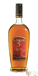 "El Dorado "" Fine cask aged "" 5 years old finest rum of Guyana by Demerara 37.5%vol.    0.70 l"