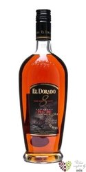 "El Dorado "" Fine cask aged "" 8 years old finest rum of Guyana by Demerara 37.5%vol.    0.70 l"