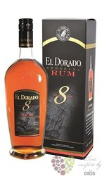 "El Dorado "" Fine cask aged "" 8 years old gift box finest rum of Guyana 37.5% vol.    0.70 l"