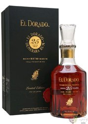 "El Dorado 1986 "" Luxury cask aged "" aged 25 years rum of Guyana by Demerara 43%vol.  0.70 l"