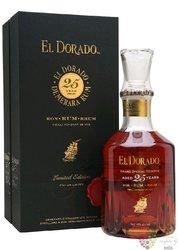 """El Dorado 1992 """" Luxury cask aged """" aged 25 years rum of Guyana by Demerara 43%vol.  0.70 l"""