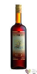 "El Dorado superior "" Dark "" aged rum of Guyana by Demerara 37.5% vol.    1.00 l"